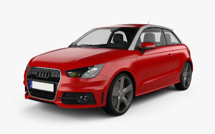 Audi A1 Vorderseite