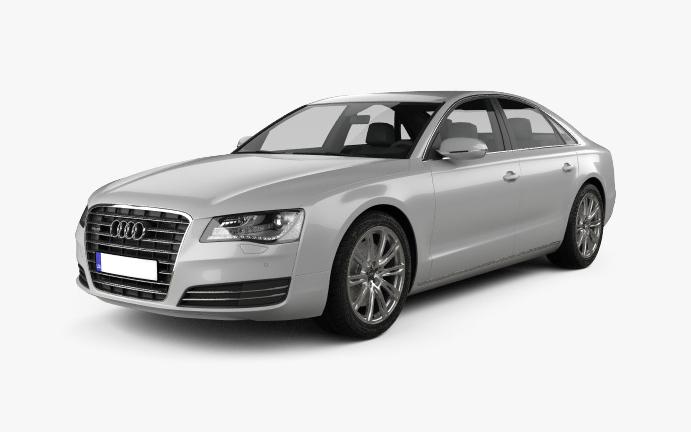 Audi A8 Vorderseite