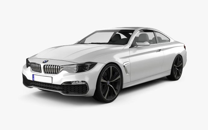 BMW420 Vorderseite