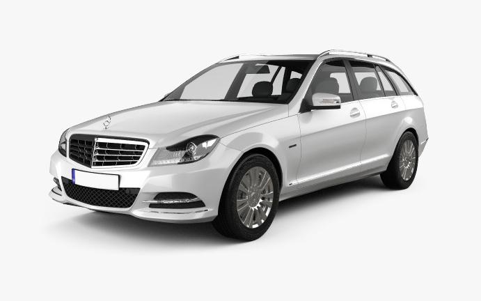 Mercedes-C Vorderseite