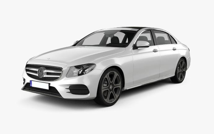 Mercedes-E Vorderseite