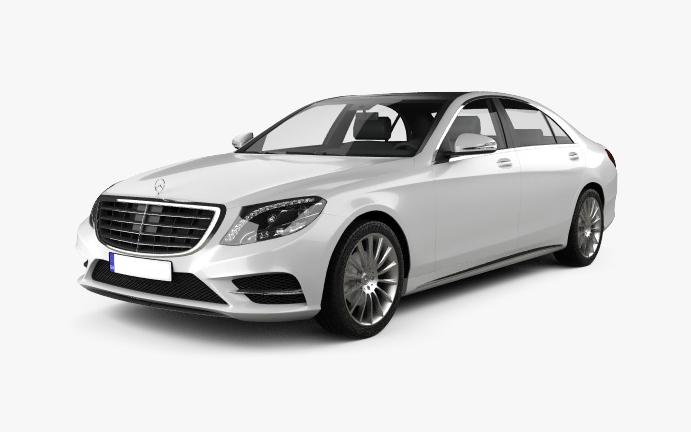 Mercedes-S Vorderseite