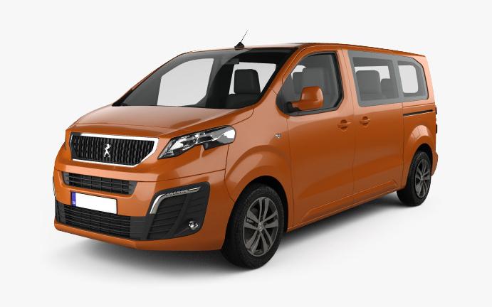 Peugeot-Traveller Vorderseite