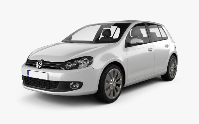 VW-Golf-6 Vorderseite