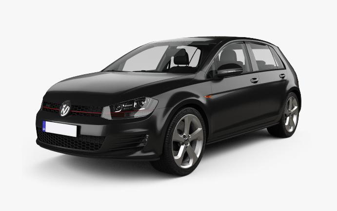 VW-Golf-7 Vorderseite