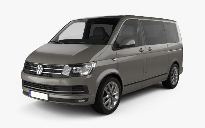 VW-Transporter Vorderseite