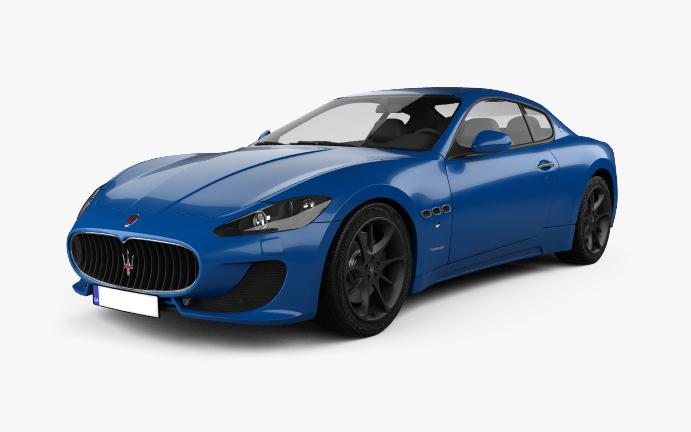 Maserati GranTurismo - vorne